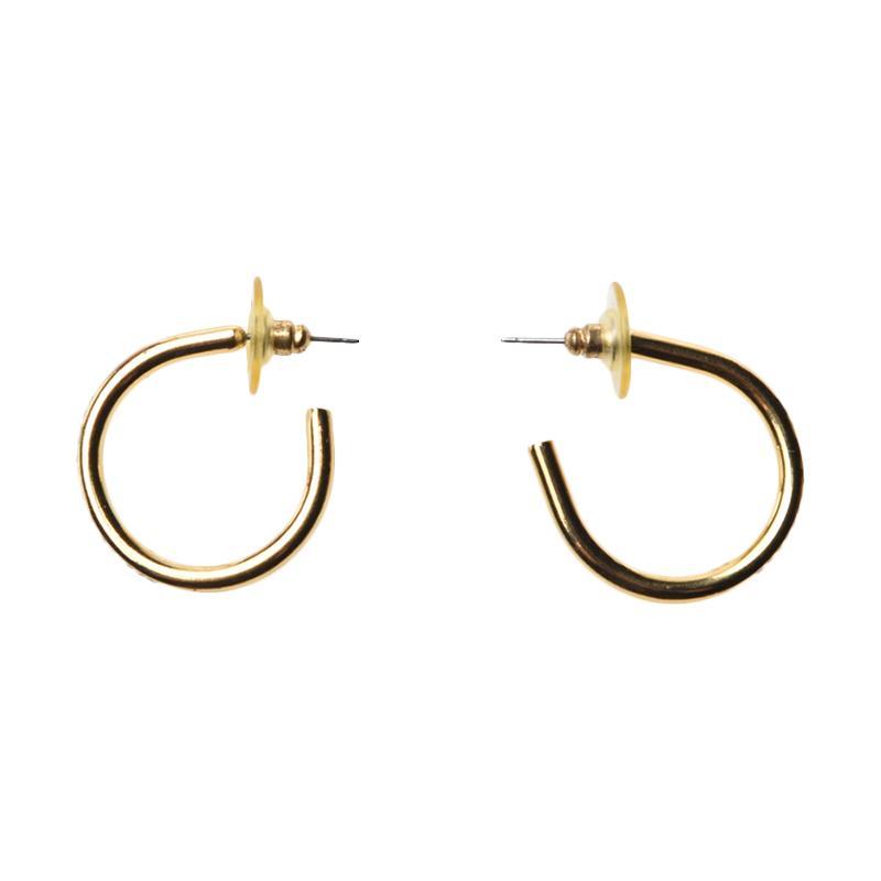 1901 Jewelry GW.2526.HR43 Blink Hoop Earring - Gold