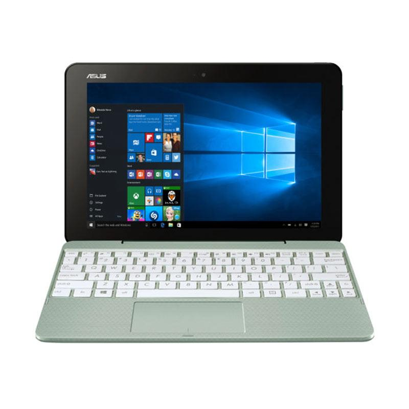 NOW_ASUS 2in1 TRANSFOMER BOOK T101HA-GR011T Notebook - Mint Green [x5-Z8350/2 GB/128 GB/10.1