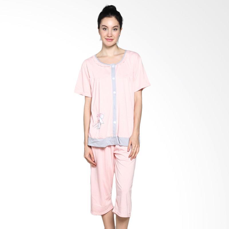 Felancy 078-PA2018 Casual Wear Sleepwear Baju Tidur - Pink