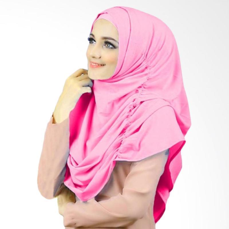 Kus Group Hijab Narinda Kerudung Syar'i - Pink