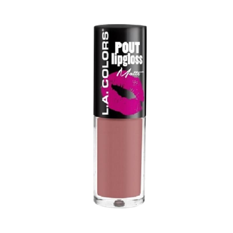 LA Colors Pout Lipgloss Matte - CLG631 Lets Kiss