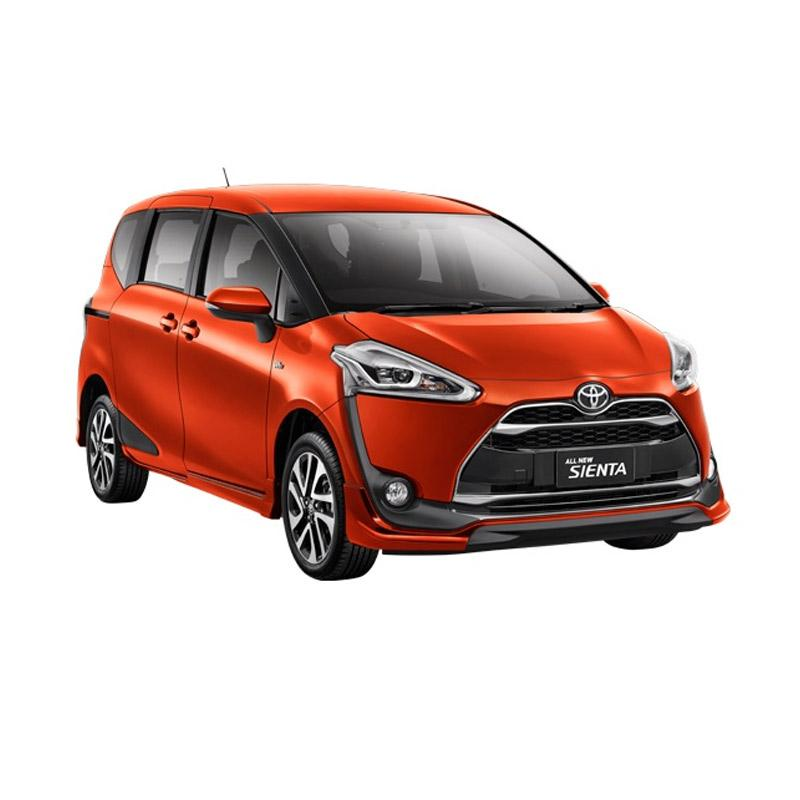 Toyota Sienta 1.5 G Black Trim Mobil - Orange Metallic Extra diskon 7% setiap hari Extra diskon 5% setiap hari Citibank – lebih hemat 10%