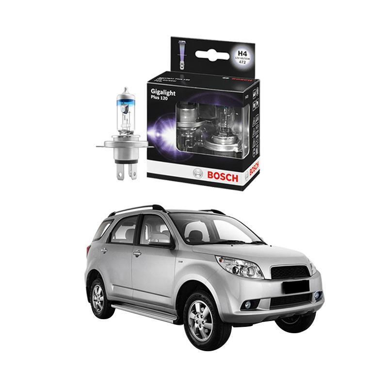 Bosch H4 Gigalight Bohlam Lampu For Terios 1.5i 2007 Ke Atas [1987301106]