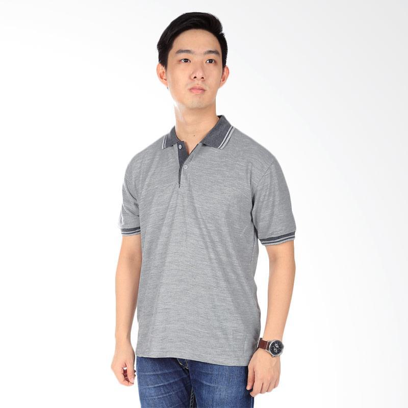 Elfs Shop Kaos Polo Neck Atasan Pria - Light Grey Extra diskon 7% setiap hari Extra diskon 5% setiap hari Citibank – lebih hemat 10%