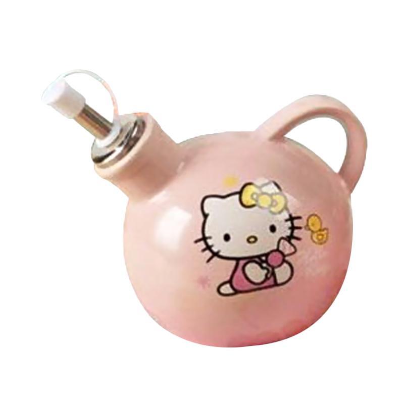 Hello Kitty HK Duck Botol Kecap Keramik - Pink