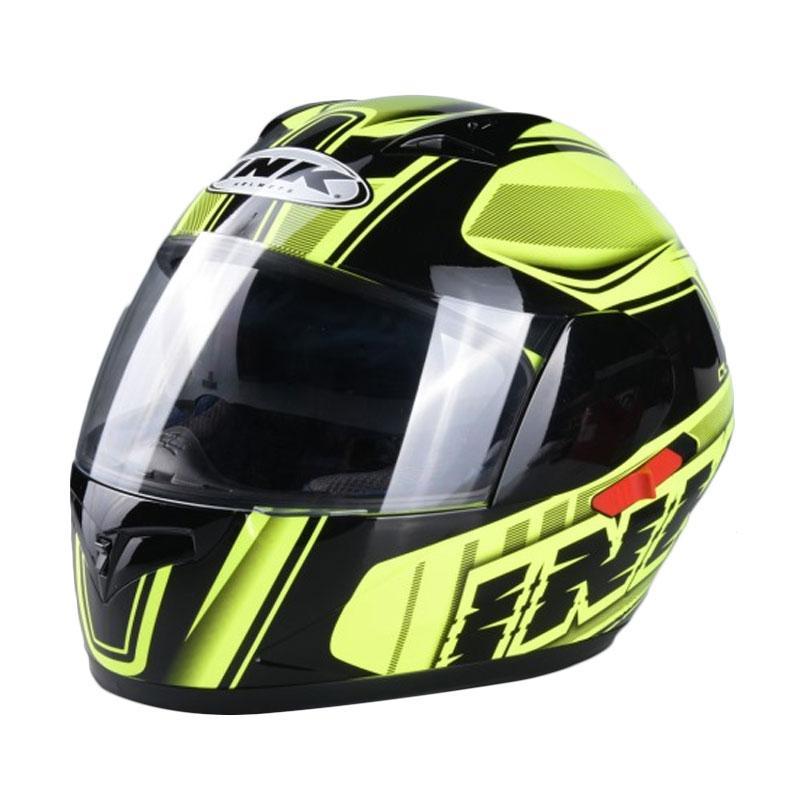 harga INK #2 CL1 2V AS SUPER FLUO Helm Full Face - Yellow Fluo Black Blibli.com
