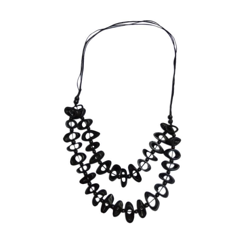 Tata Bali Shop 285 Kalung Fashion Wanita Khas Bali - Black