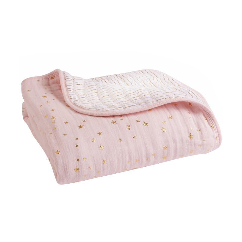 Aden Anais - Metallic Dream Blanket - Primrose - Selimut Bayi dan Anak