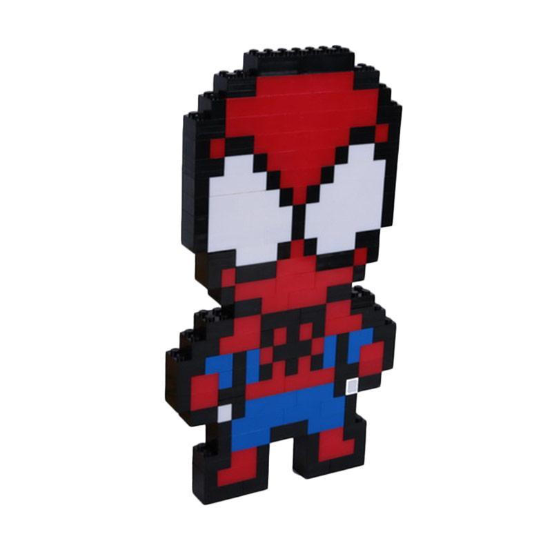 Chloe Babyshop Spiderman Lego Mainan Anak - Red