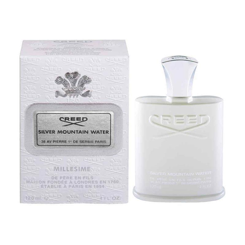 Creed Silver Mountain Water EDP Parfum Pria [120 mL]