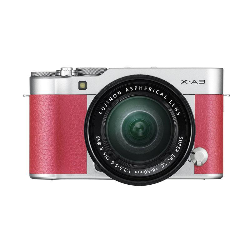Fujifilm X-A3 Kit 16-50mm - Pink Free Memory Sony 8gb