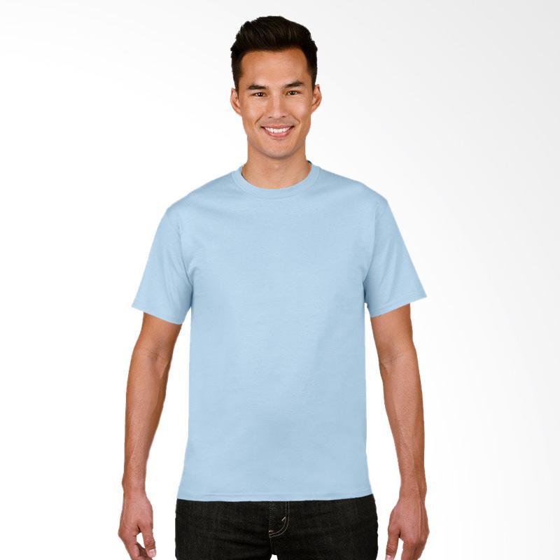 Gildan Original SoftStyle Kaos Polos - Light Blue [63000]