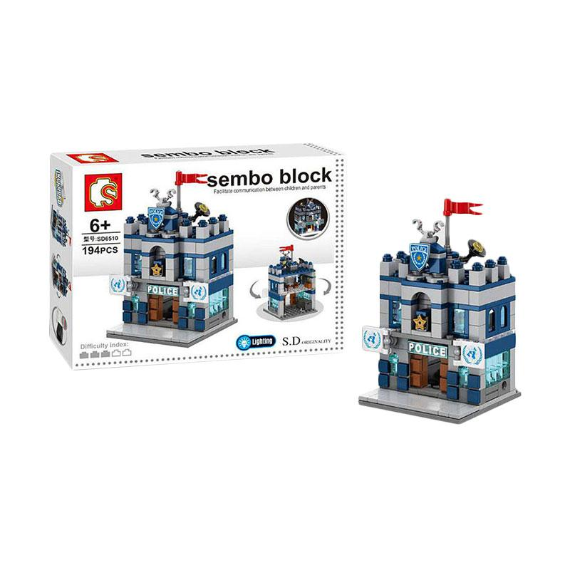 Sembo Sd6510 Police Dept Blocks & Stacking Toys