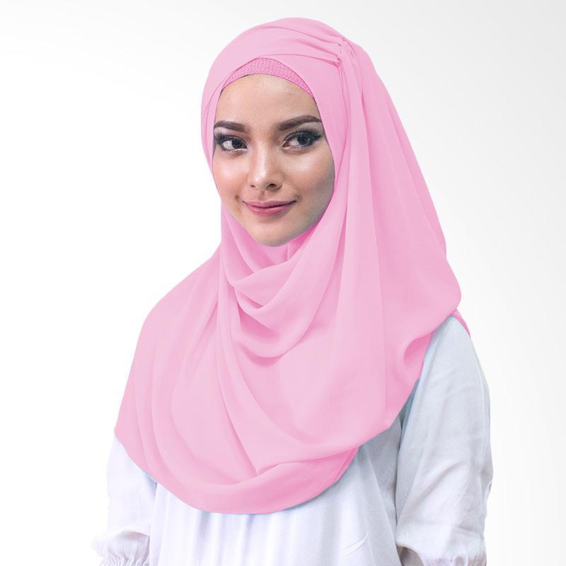 Milyarda Hijab shakina Kerudung Instan - Pink