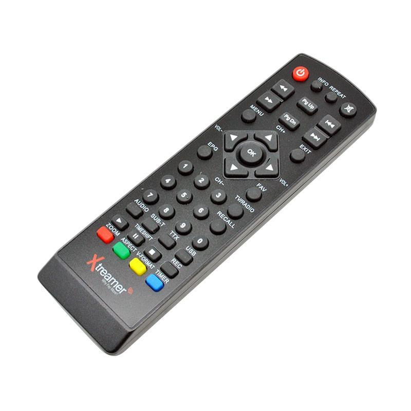 harga Mine Remote for Xtreamer Set Top Box DVB-T2 BIEN 2 - Black Blibli.com