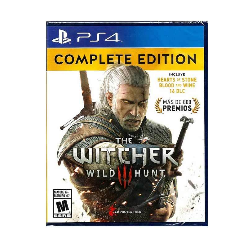 harga Sony PS4 The Witcher 3: Wild Hunt Complete Edition DVD Game Blibli.com