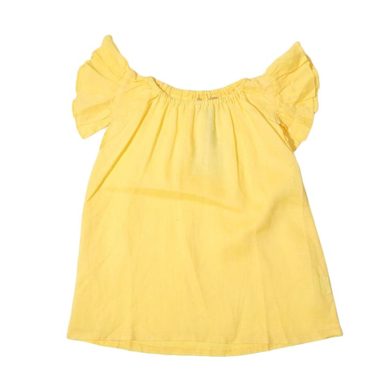 Adel & Audrey Top 139 Atasan Anak Perempuan - Yellow