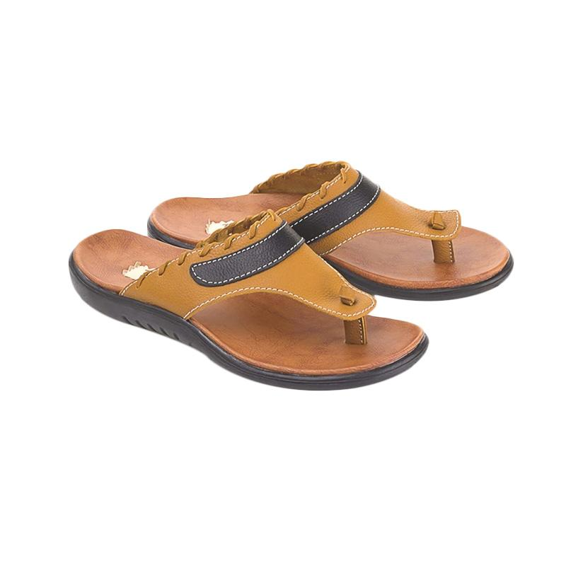 Blackkelly LIG 159 Folsenine Casual Sandal Pria - Tan