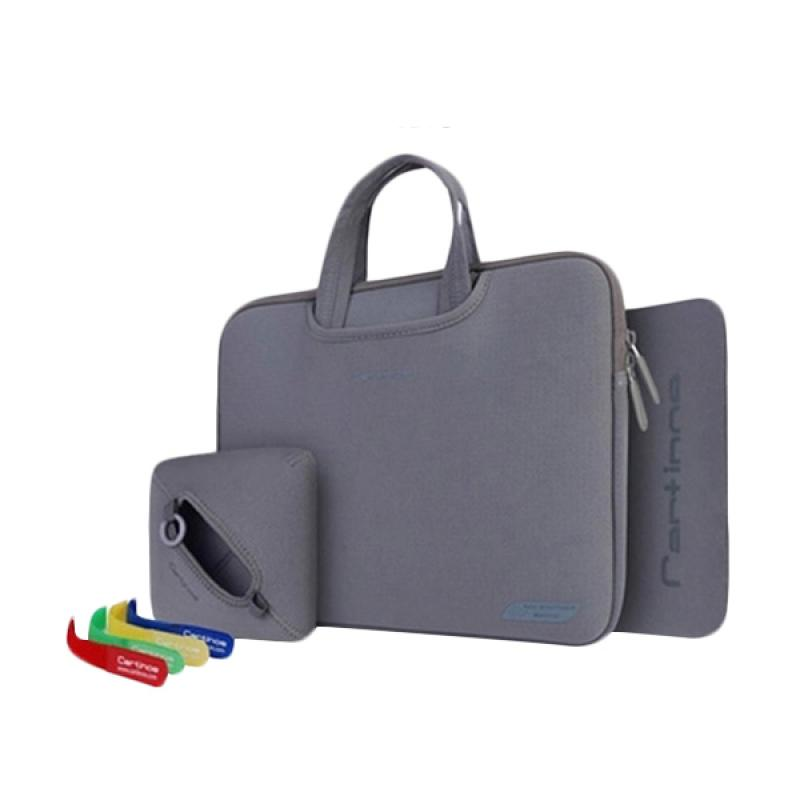 Cartinoe Breath Series Tas Laptop - Grey [13.3 Inch]