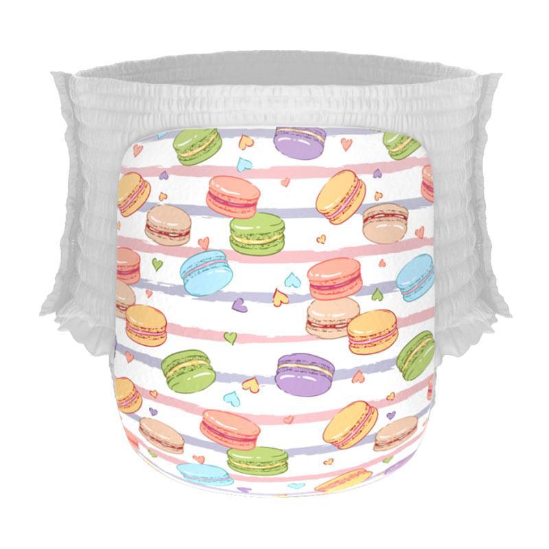 Happy Diapers Pant Popok Bayi - Macaroons [Size M/30 pcs/A11]