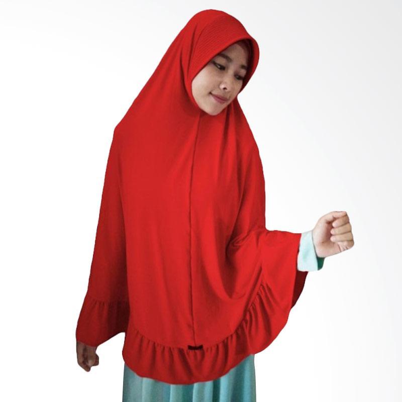 Milyarda Hijab Instant Bergo Pet Ihrom - Merah