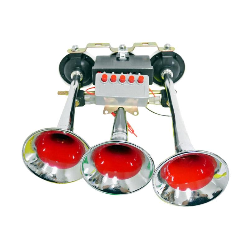 Radiant GT-308-3 24 Klaskon Telolet 3 Terompet [5 Sound/24 V]