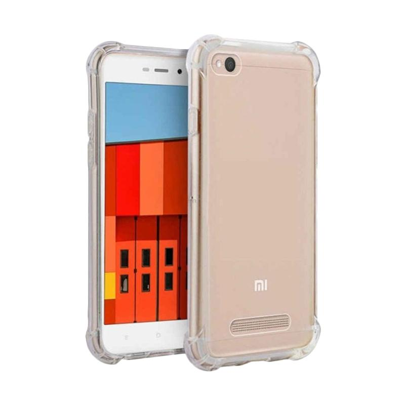 Rakki Anti Crack and Anti Shock Casing for Xiaomi Redmi 4A - Clear Bening