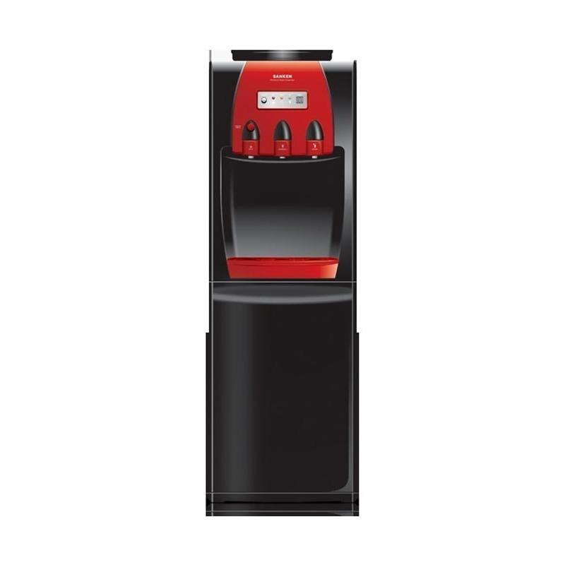 Sanken HWD-999 SH Dispenser Air - Hitam Merah [Galon Atas]
