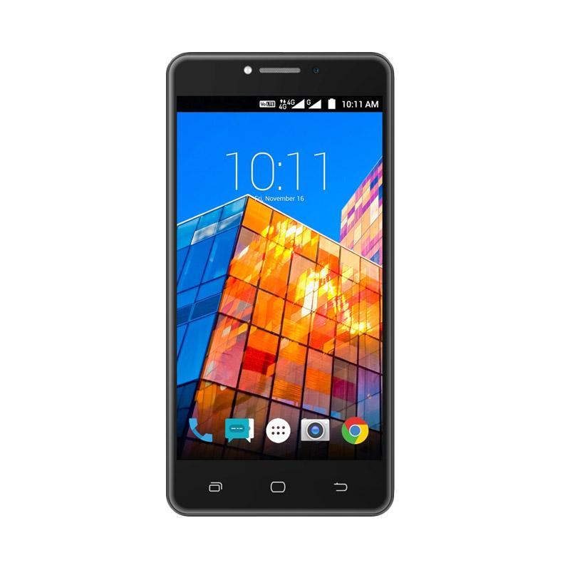 Smartfren Andromax L 4G VoLTE Smartphone - Black [16 GB/2 GB]