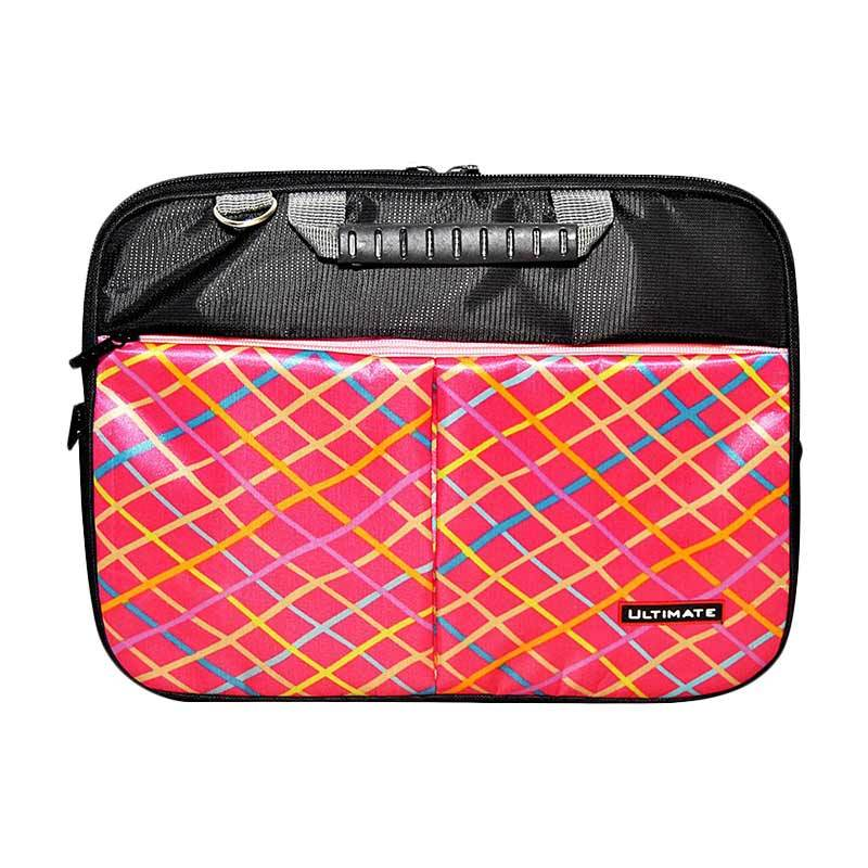 Ultimate Double Cross Tas Notebook 12 Inch - Pink