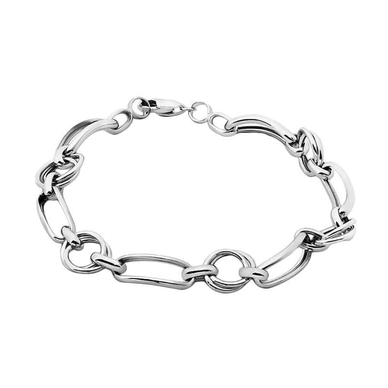 WhizLiz Curved Longinus Chain Bracelet Gelang