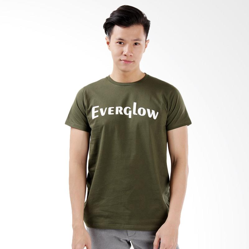 Word.O Ever Glow T-Shirt Lengan Pendek - Hijau Army