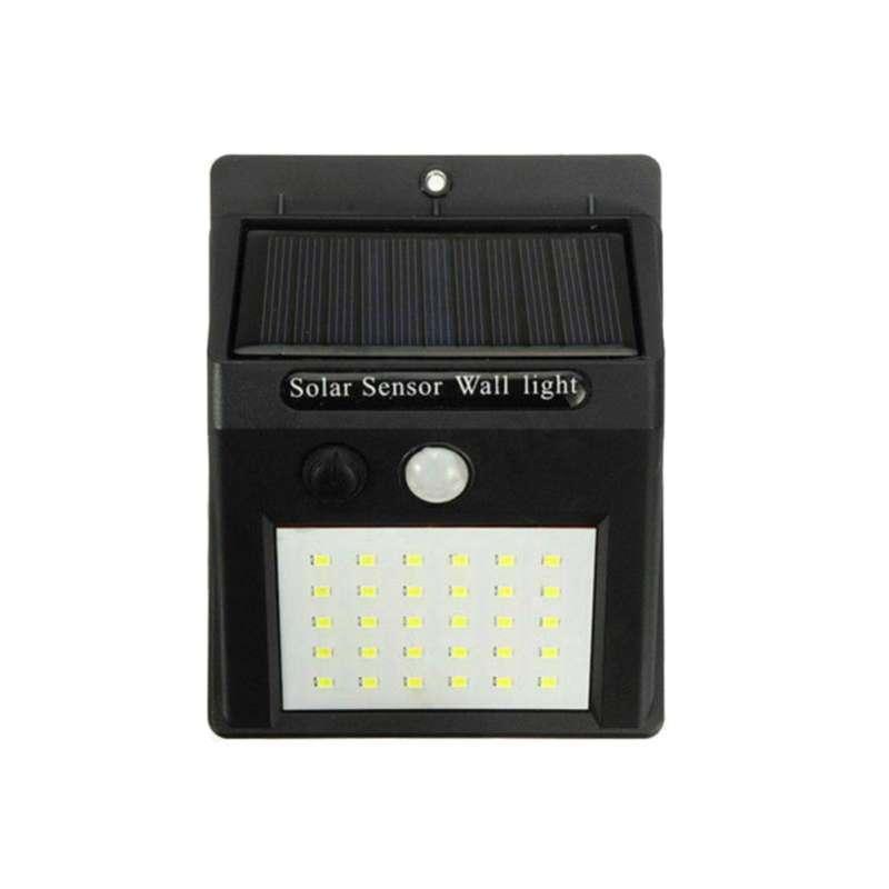 Jual Bluelans Solar Wall Light Waterproof Led Motion Sensor Lamp Courtyard Garden Lighting Online Januari 2021 Blibli