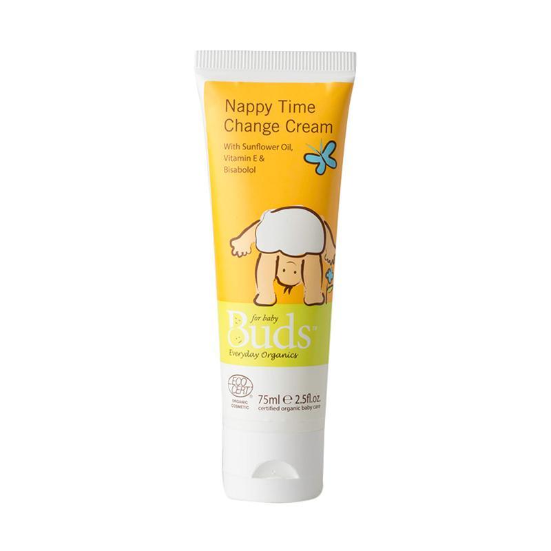 Buds Organic - Nappy Time Change Cream - Krim Pencegah Ruam Organik