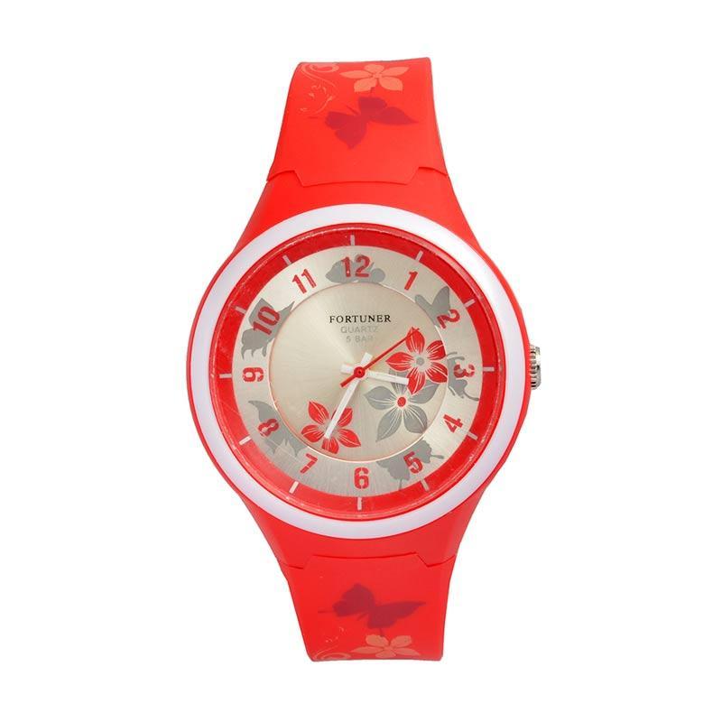 Fortuner FT064RE Sporty Jam Tangan Wanita - Red