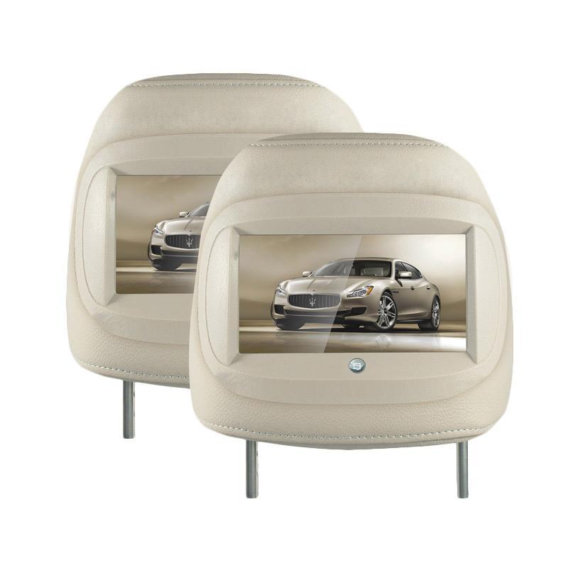 harga Mobiletech MH-7022 New Headrest Monitor - Light Beige Blibli.com