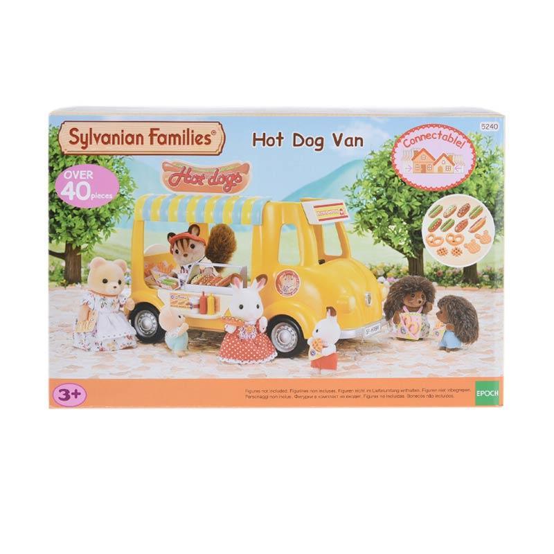 Sylvanian Families Hot Dog Van Set Mainan Anak