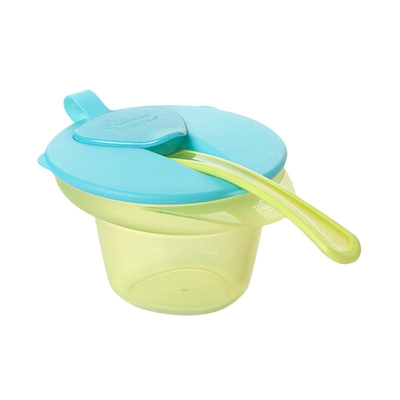 Tommee tippee Cool & Mash Weaning Bowl Tempat Makan Anak - Green