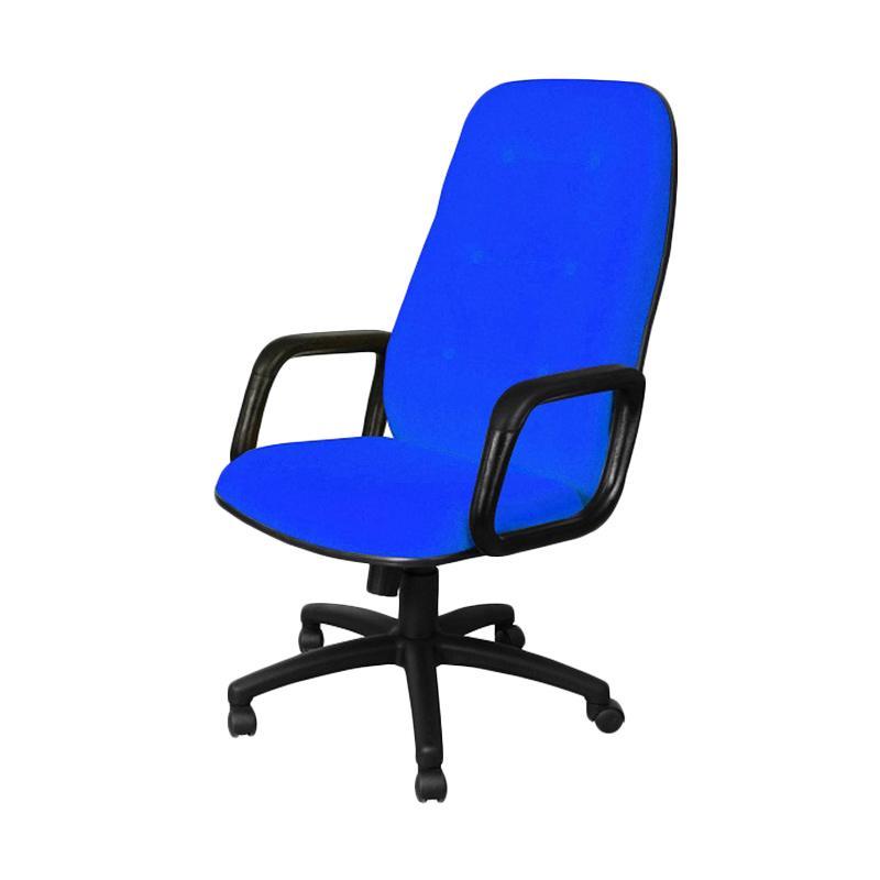 UNO U-8 London HAU Office Chair - Biru [Khusus Jabodetabek]