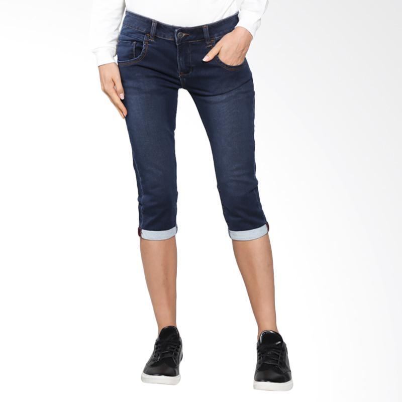 harga Carvil F1.GON.0DB.EX/GONIT-DB Jeans Celana Wanita - Dark Blue Blibli.com