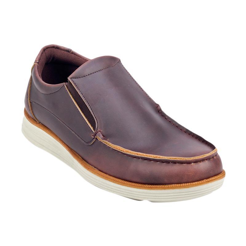 Giant Flames Kameyo Slip On Shoes - Dark brown