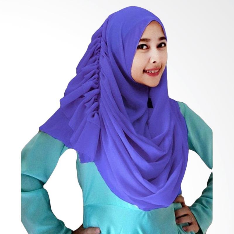 Kus Group Hijab Cassanova Kerudung - Biru Tua