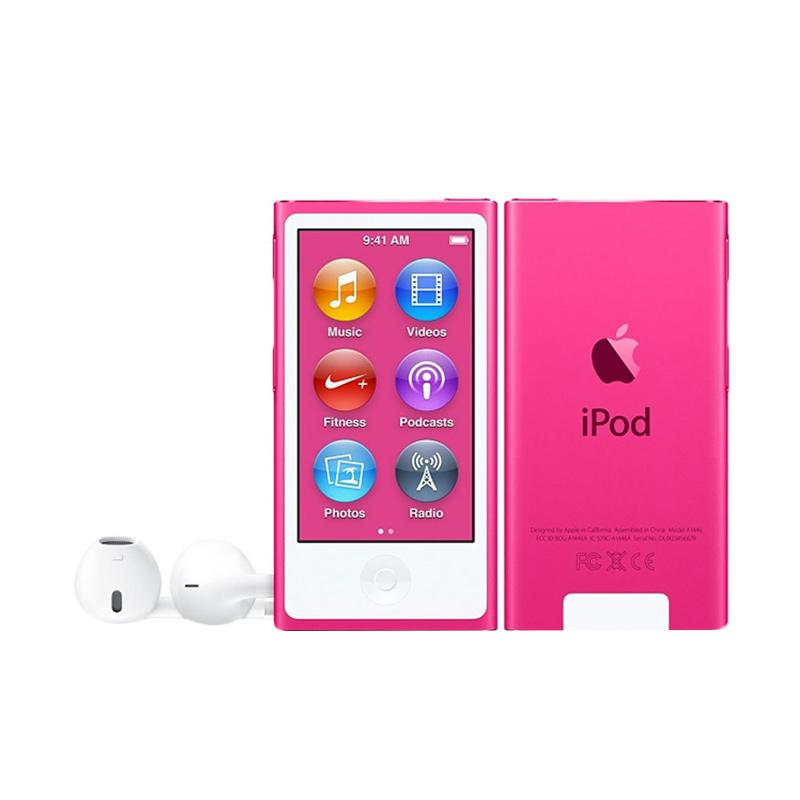 harga Apple iPod Nano 7th Gen 16 GB Portable Player - Pink [Garansi Internasional] Blibli.com