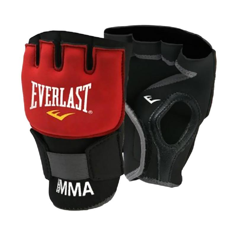 Everlast MMA Evergel Wraps Sarung Tangan - Black