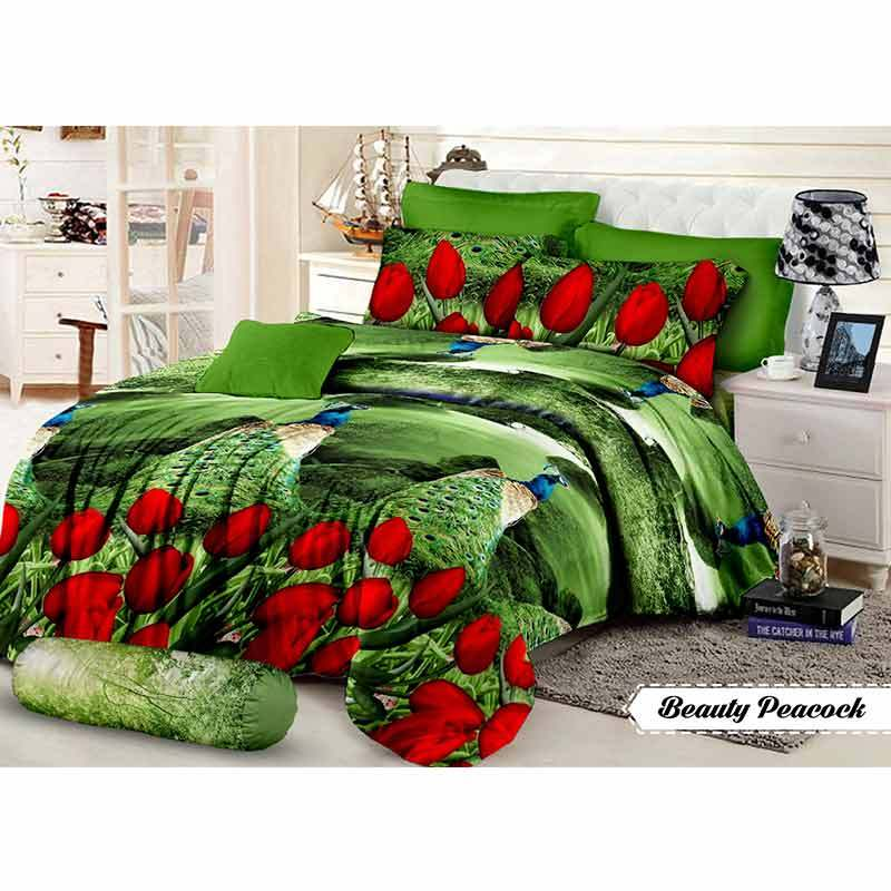 Khawla Disperse Beauty Peacock Set Sprei