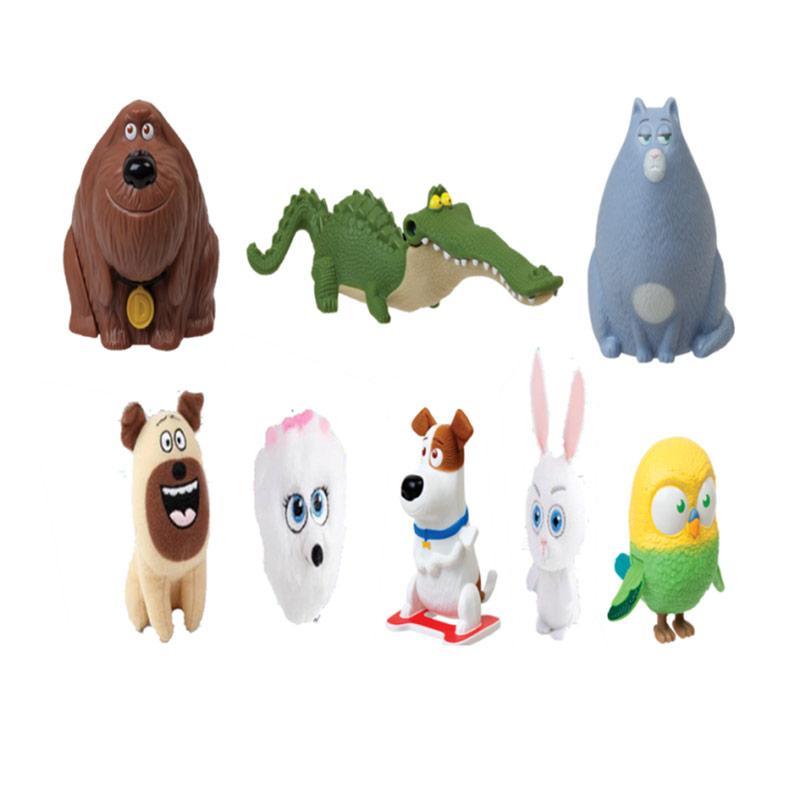 Jual Mcdonald S Happy Meal Pet The Secret Life Of Pets 2016 Set Mainan Anak Online November 2020 Blibli