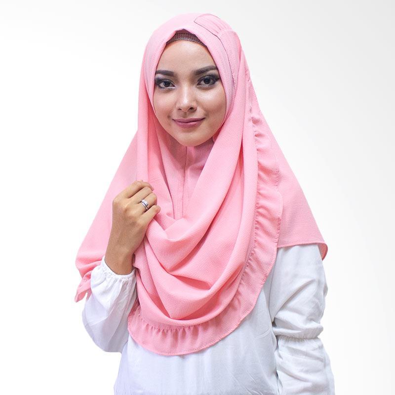 Milyarda Hijab Kenisha Kerudung Instan - Pink