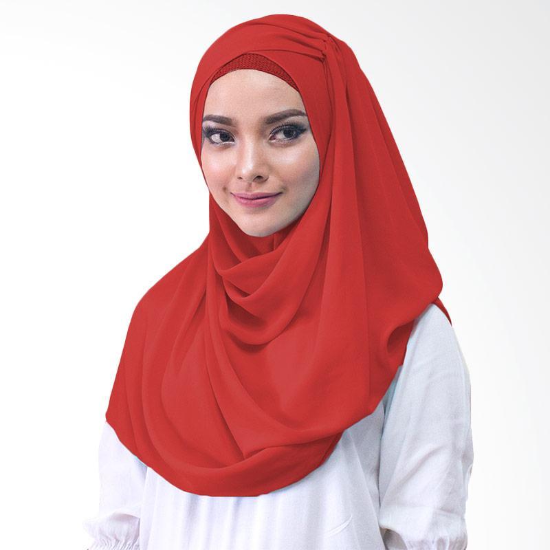 Milyarda Hijab Shakina Kerudung Instan - Merah
