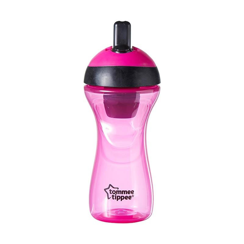 Tommee Tippee 12m+ Active Filter Bottle - Pink