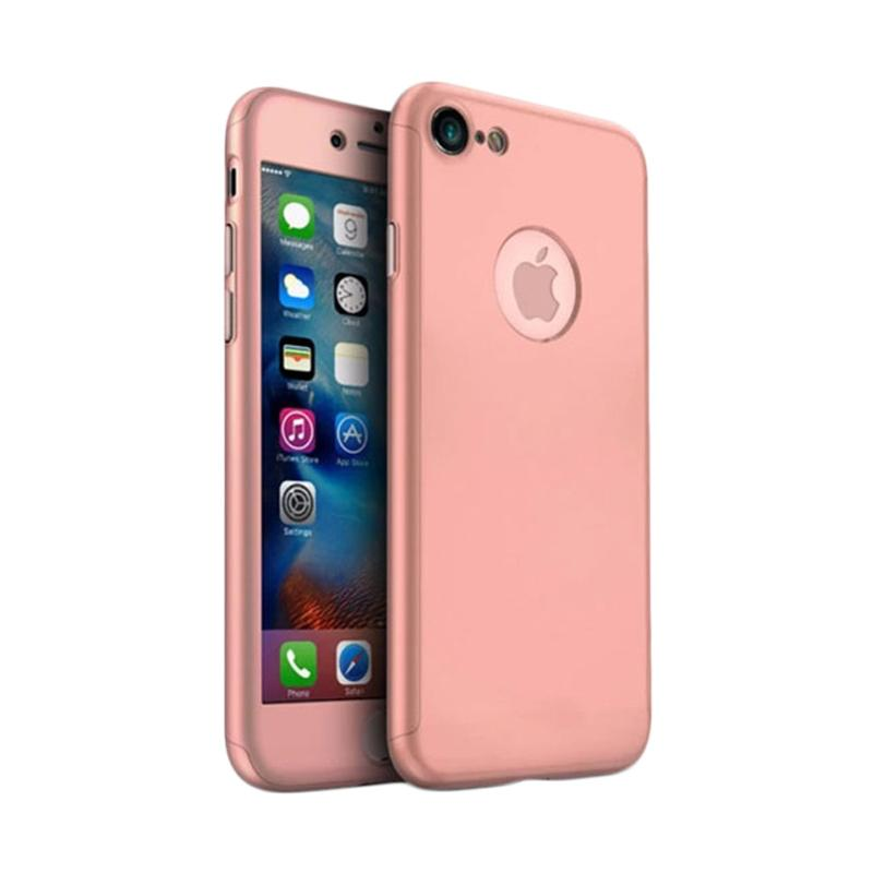 Tunedesign TPU 360 Casing for iPhone 7 - Rose Gold